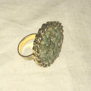 Jewelry - MOSS AGATE RING